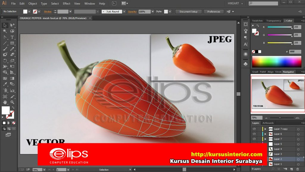 Kursus Illustrator Surabaya