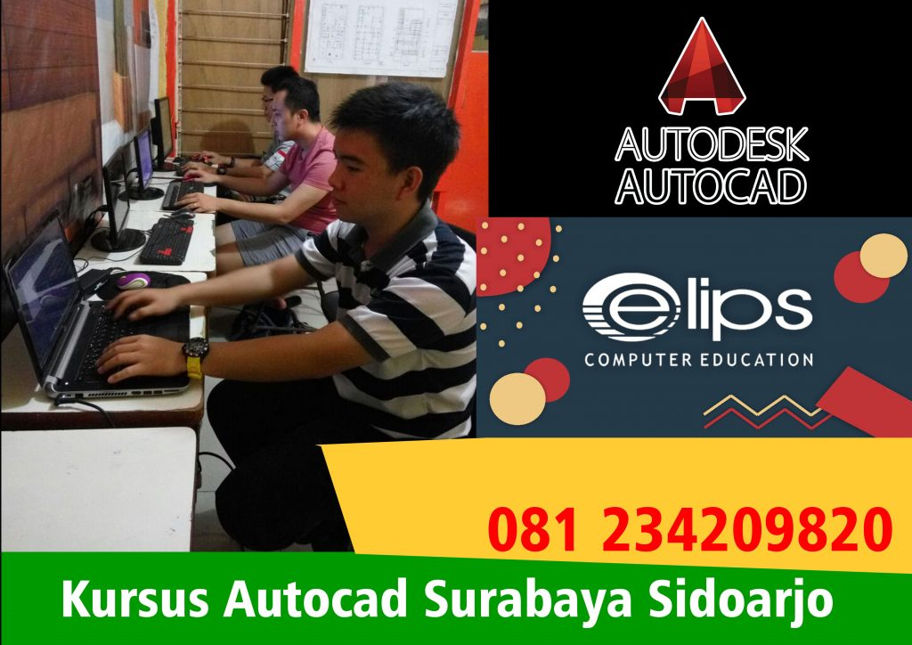 Kursus Autocad Surabaya Sidoarjo