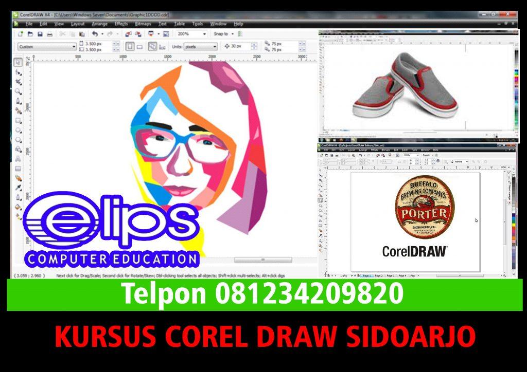 Kursus Corel Draw Sidoarjo