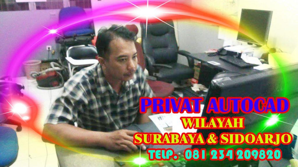 PRIVAT AUTOCAD SURABAYA