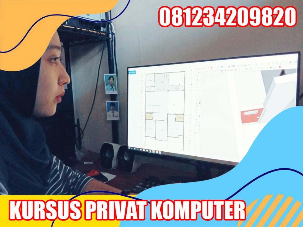 kursus privat komputer surabaya