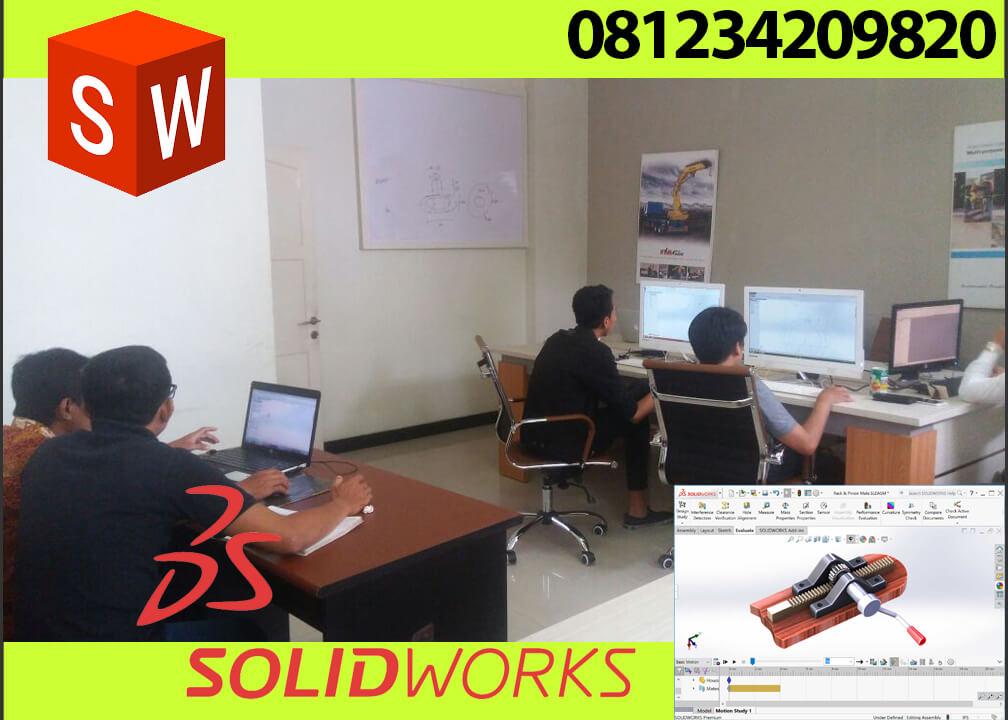Kursus Soliworks Surabaya